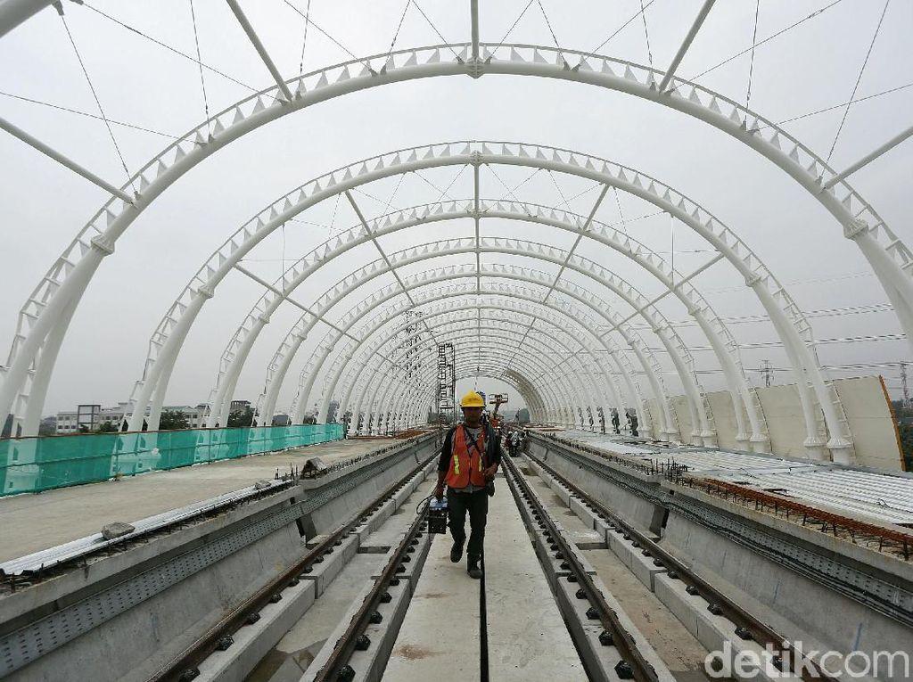 Swasta Minat Bangun LRT hingga Bandara