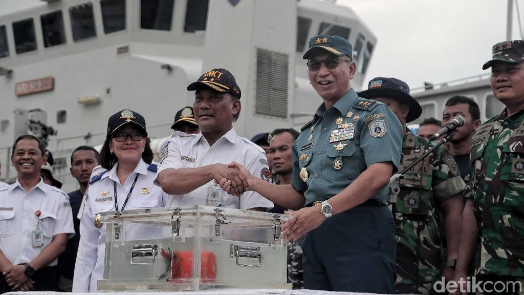 Berhasil Ditemukan, CVR Lion Air Diserahkan ke KNKT