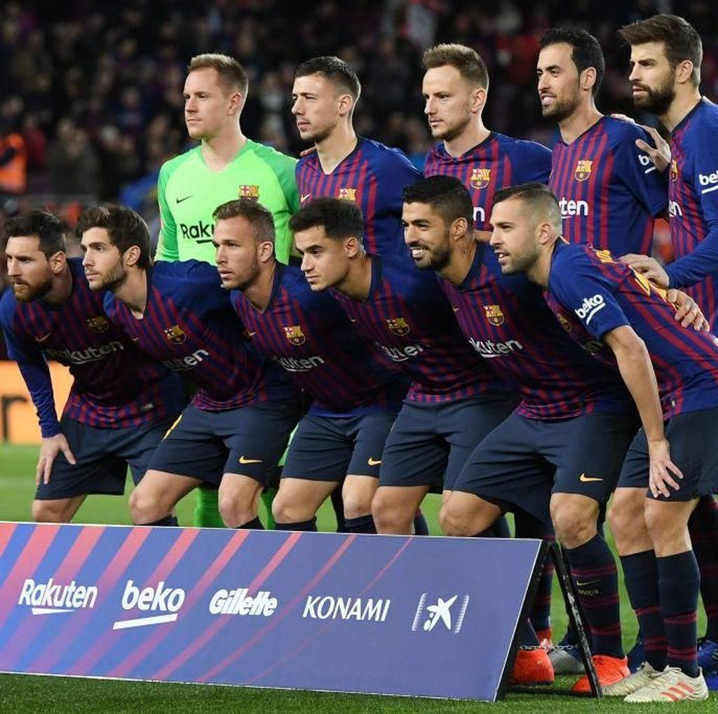 Barcelona Cetak Rekor, Habiskan Rp 9 Triliun untuk Bayar Staf