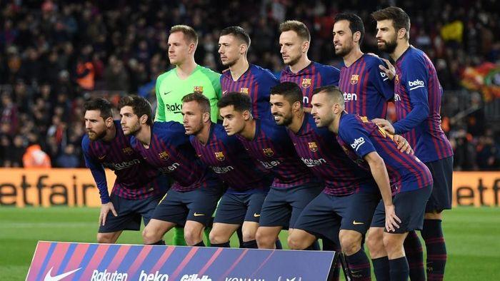 Barcelona mengeluarkan uang mencapai 562 juta euro untuk membayar stafnya. (Foto: David Ramos/Getty Images)