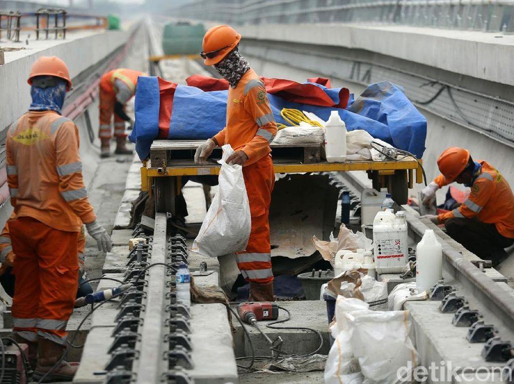 Realisasi Kerja Jokowi di Sektor Infrastruktur