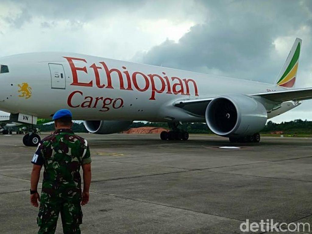 Pesawat Kargo dari Ethiopia Melintas Ilegal di Langit Indonesia