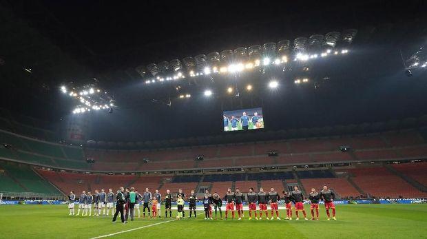 Pesta Gol Inter di tengah Sunyinya Meazza