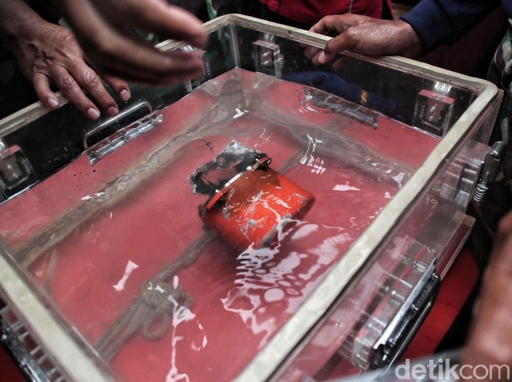 KNKT Sudah Download CVR Lion Air PK-LQP, Total Rekaman 124 Menit