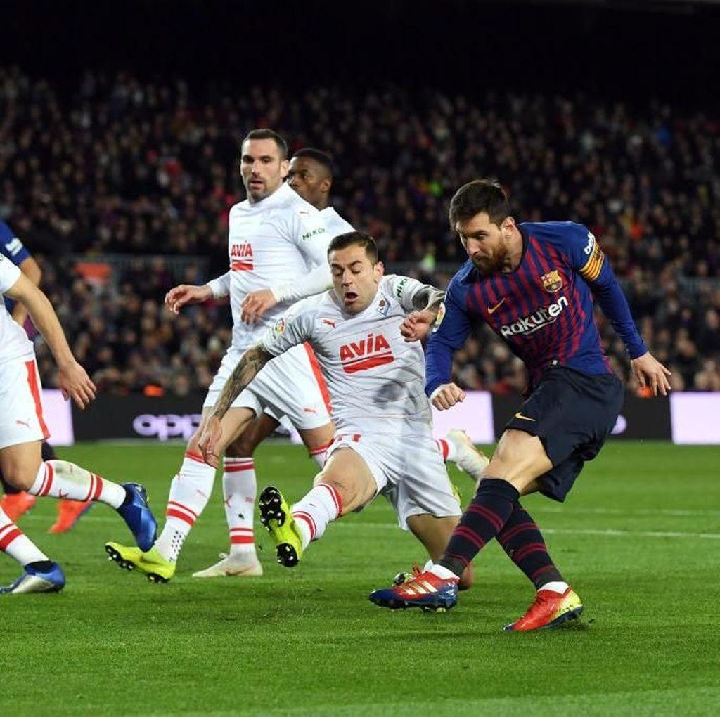 Cetak Gol ke-400, Messi masih Kalah dari Josef Bican