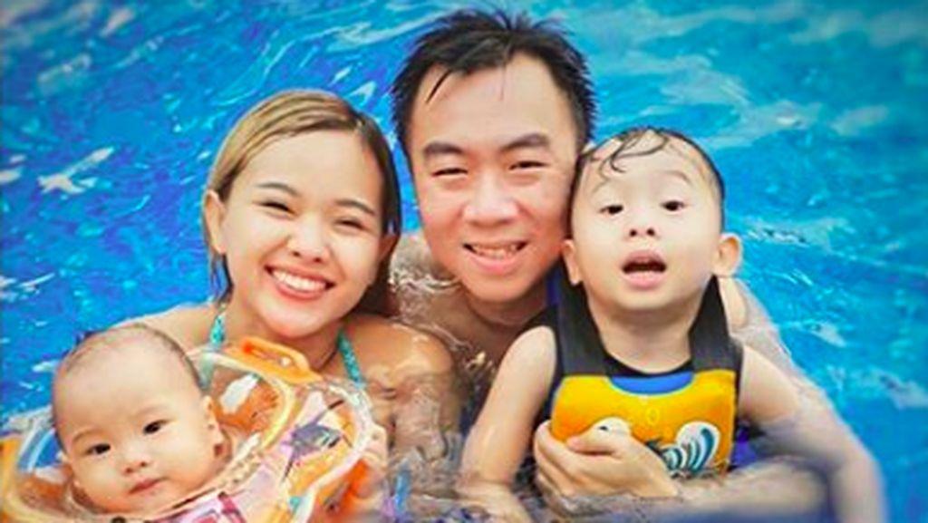 7 Potret Seru Winda Idol Bersama Keluarga