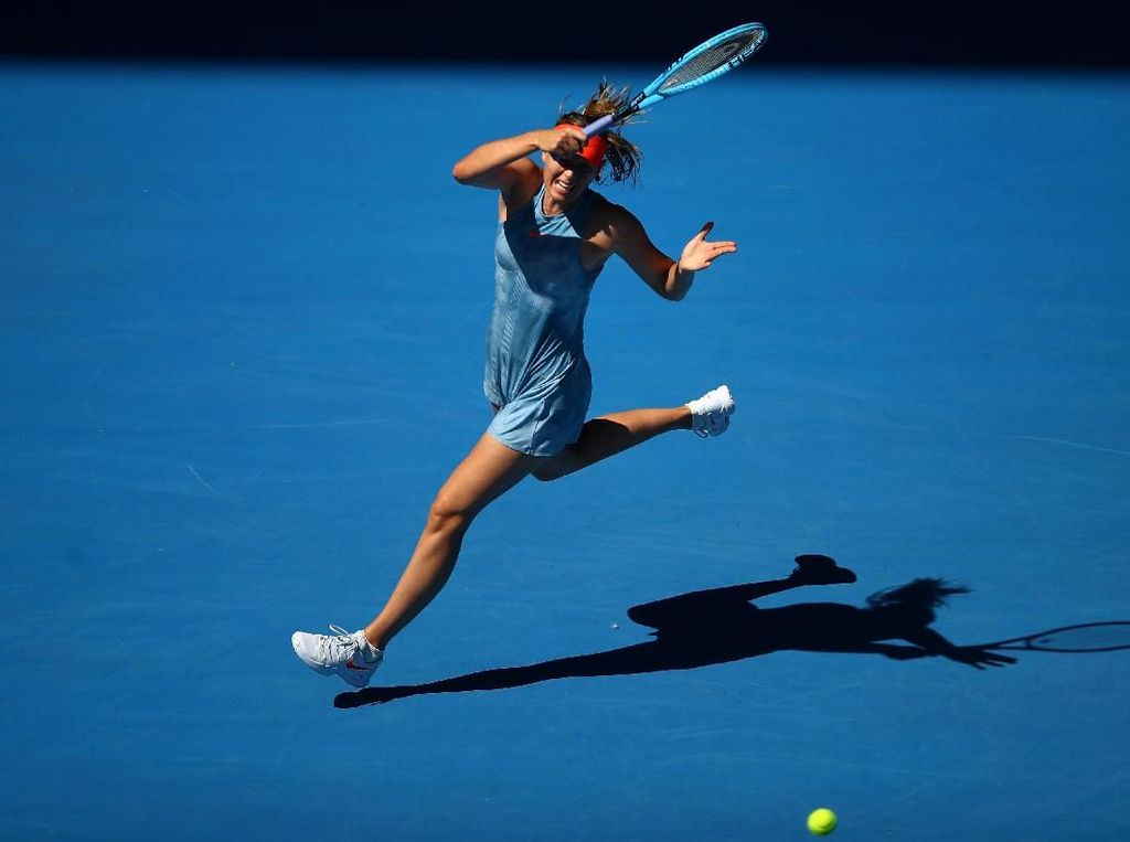 Australia Terbuka Dimulai, Sharapova Bukukan Double Bagel