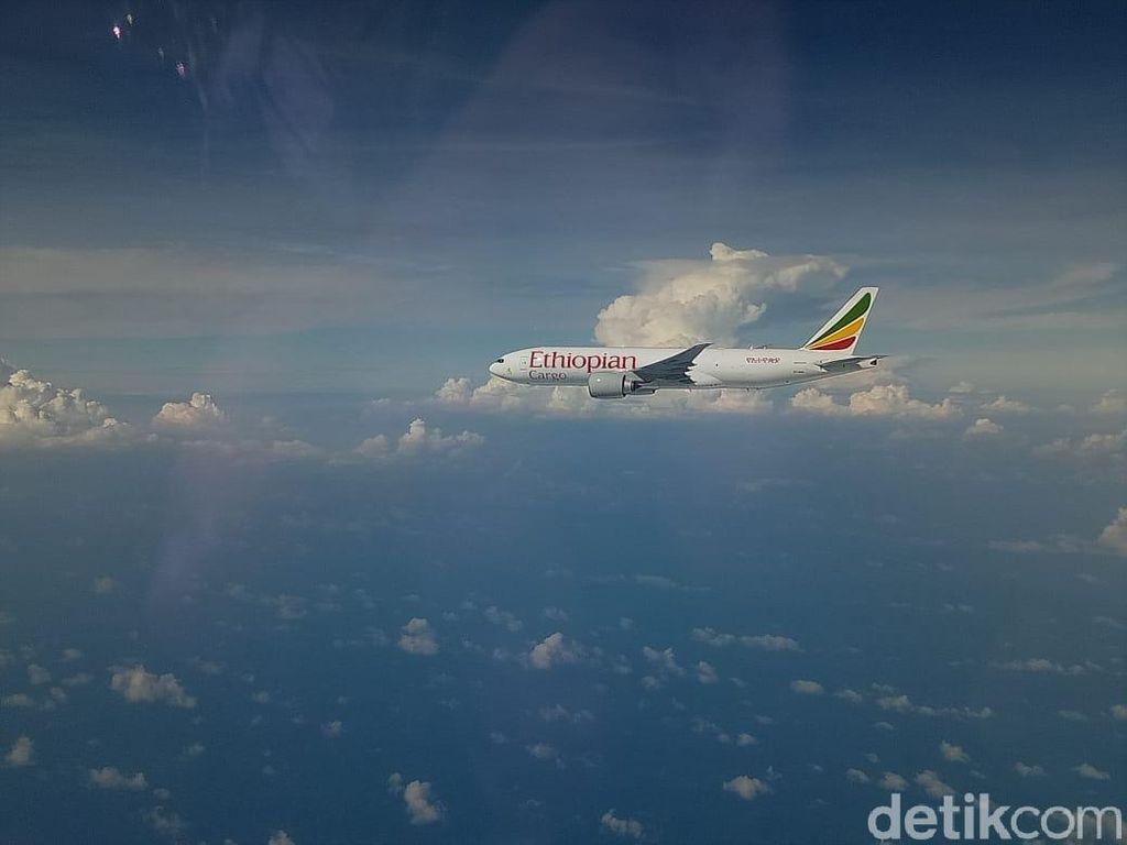 Lintasi Indonesia Tanpa Izin, Pesawat Ethiopia Ngaku Mau ke Singapura