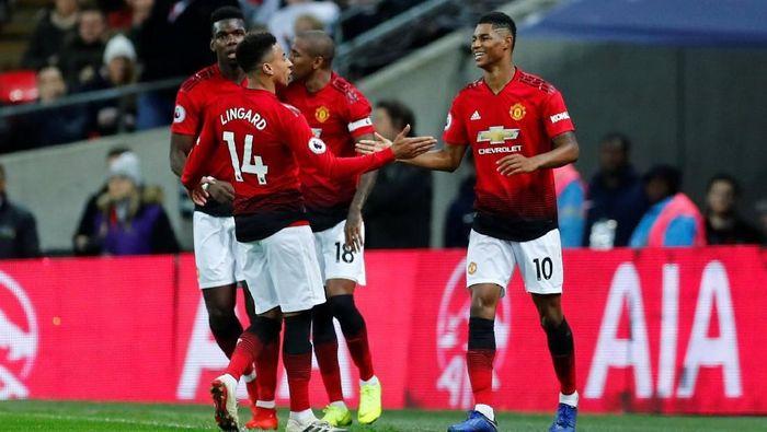 Manchester United akan menghadapi Brighton & Hove Albion di pekan ke-23 Liga Inggris, Sabtu (19/1/2019). (Foto: Eddie Keogh/Reuters)