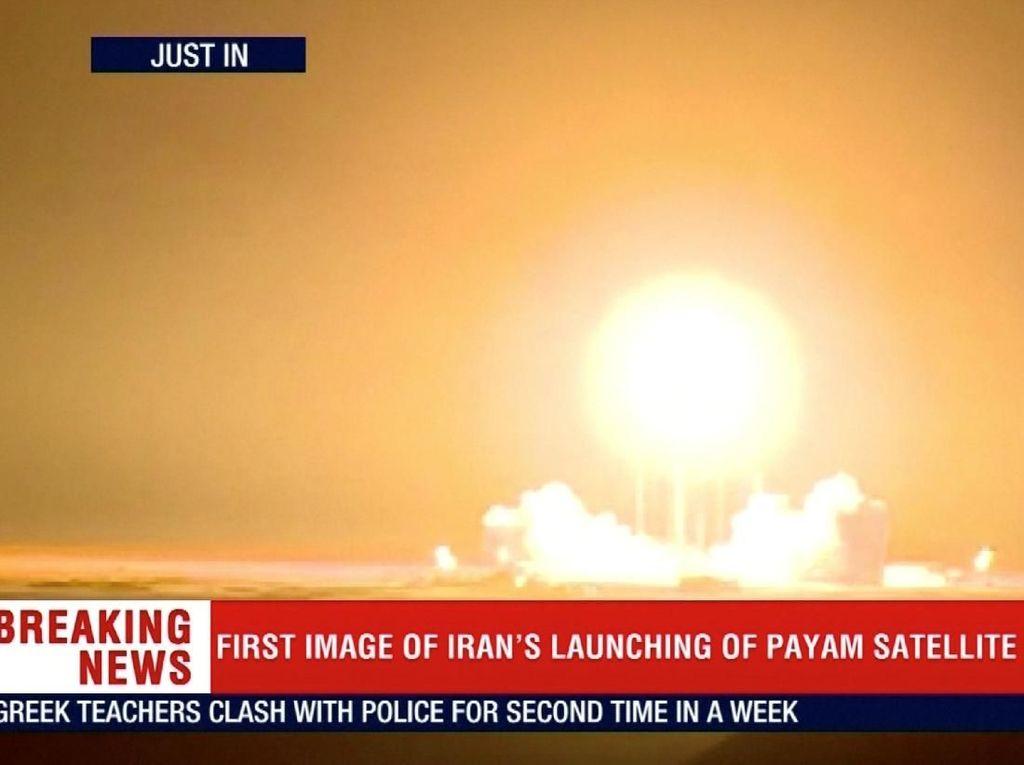 Iran Gagal Luncurkan Satelit ke Orbit