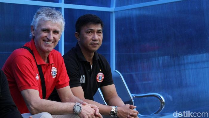 Ivan Kolev, pelatih Persija Jakarta (Rifkianto Nugroho/detikSport)