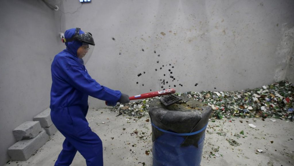 Foto: Ruangan untuk Mengamuk di Beijing