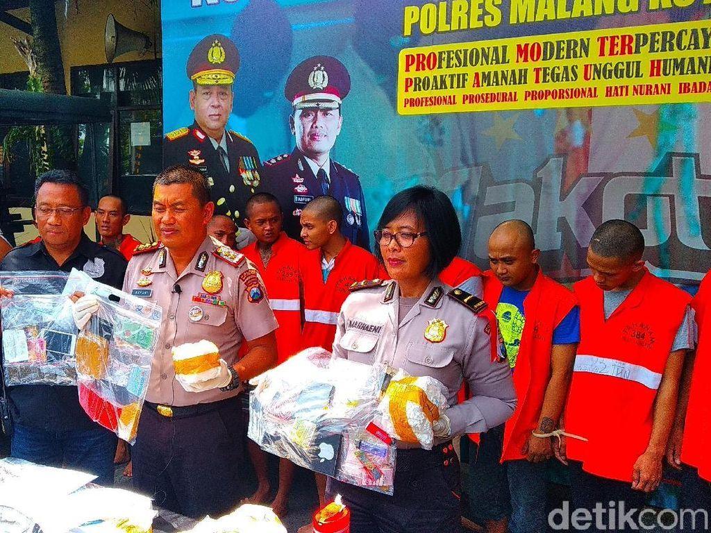 6 Ribu Pil Koplo dari Dua Kelompok Pengedar di Malang Diamankan