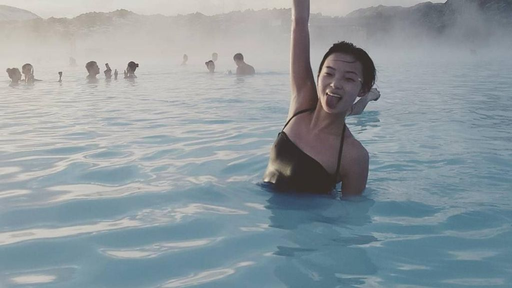 Foto: Liburannya Model Cantik China, Xiao Wen Ju