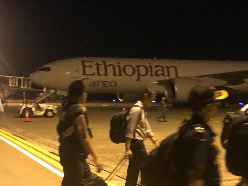 Pesawat Ethiopia yang Dipaksa Turun Panglima Kini Ditangani Otoritas Sipil