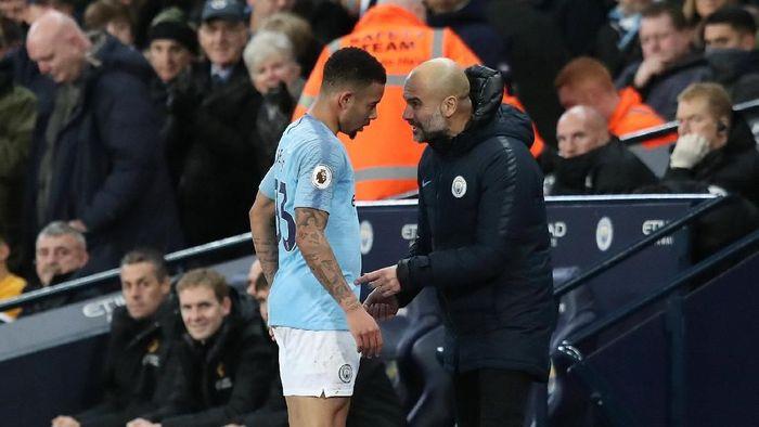 Manchester City tanpa John Stones dan Gabriel Jesus. (Foto: Jon Super/REUTERS)