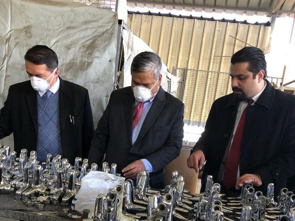 Pengusaha Suriah Jajaki Bangun Pabrik di Indonesia