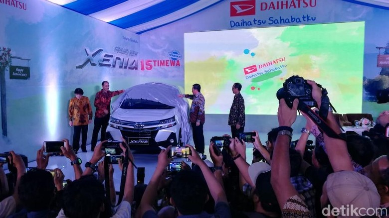 Peluncuran Daihatsu Xenia Foto: Rizki Pratama