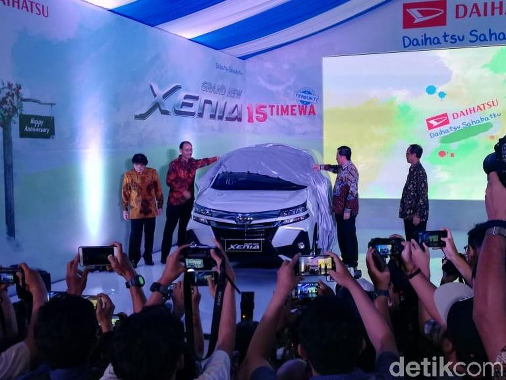 Hal-hal Baru di Daihatsu Grand New Xenia
