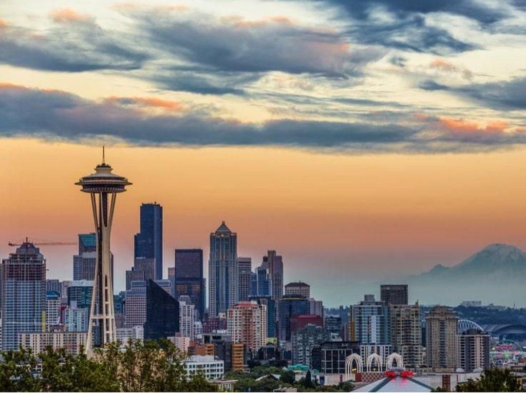 Serunya Berkunjung ke Space Needle & Lihat Pesawat Tertua di Seattle