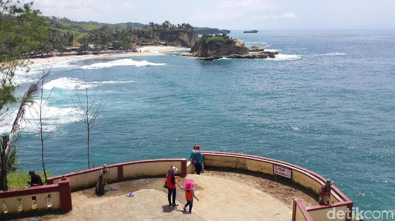 Foto: Sisi Lain Pantai Klayar (Purwo S/detikTravel)