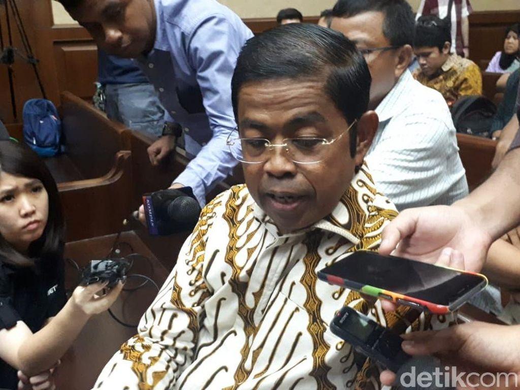 Idrus Marham Jalani Sidang Perdana Kasus Suap PLTU Riau-1
