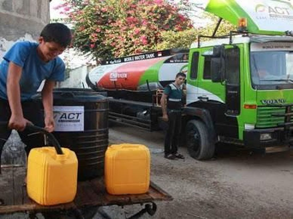 Melihat Armada Kebencanaan ACT, Food Truck hingga Mobile Watertank