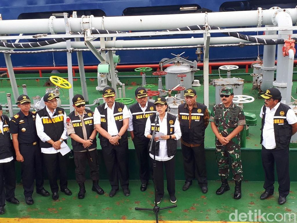 Menkeu, Kapolri, Panglima TNI Pamer Pengungkapan Kasus Penyelundupan