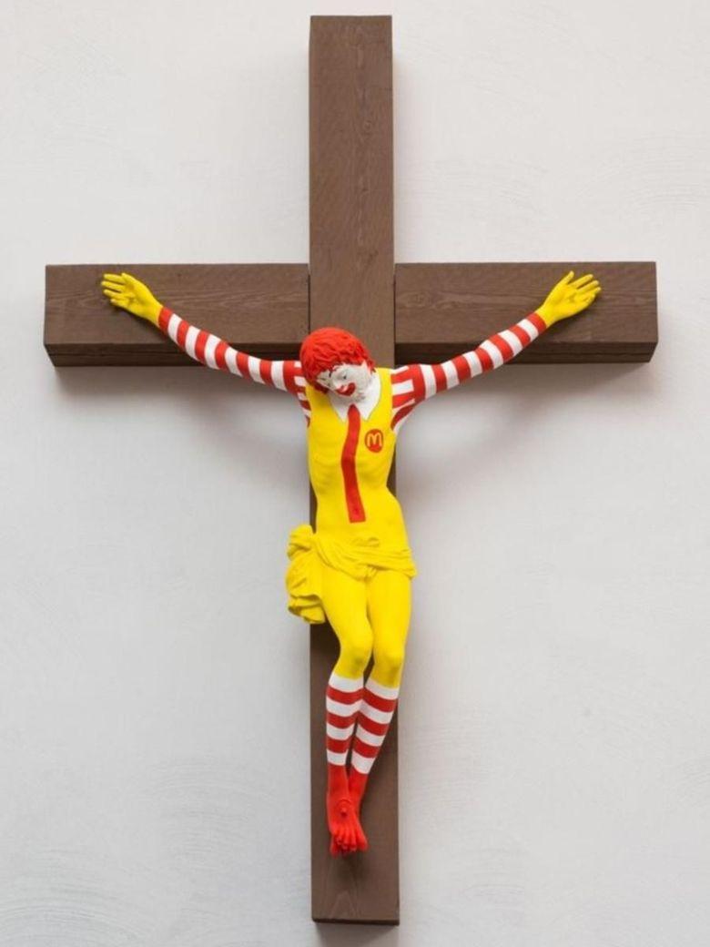 Karya Seni McJesus Picu Kemarahan Umat Kristen di Israel