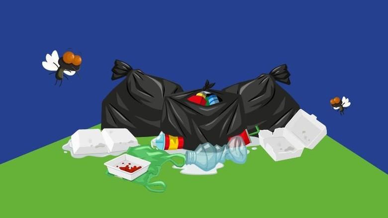 2 Ribu Ton Sampah Kepung Medan Setiap Hari