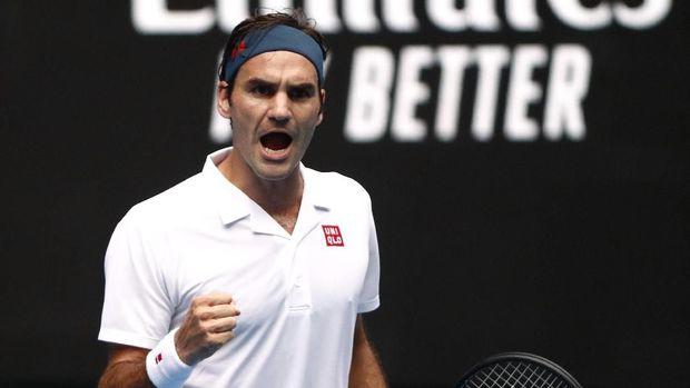 Roger Federer satu-satunya petenis di daftar 10 besar atlet terkaya.