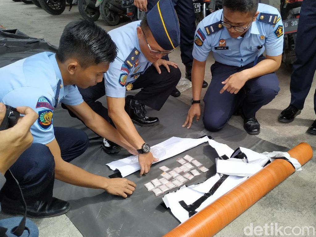 Petugas Lapas Banceuy Gagalkan Penyelundupan Sabu Hampir 100 Gram