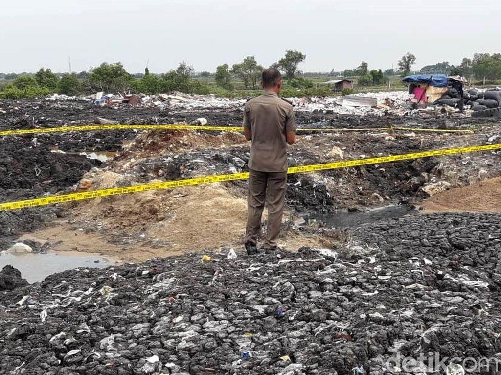 Lahan Kosong di Bekasi yang Bikin Kaki 3 Anak Melepuh Ditutup
