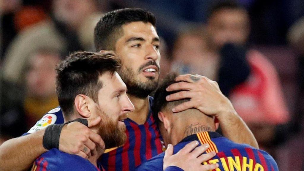 400 Gol Messi Takkan Ada Tanpa Rekan-rekannya di Barca