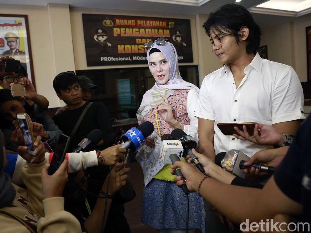 Polisi Hentikan Kasus Dugaan Perzinaan Angel Lelga