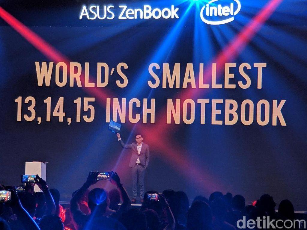 Asus Rilis ZenBook Baru, Disebut Lebih Kecil dari MacBook Air