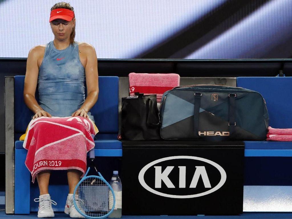 Maria Sharapova Absen di Prancis Terbuka 2019