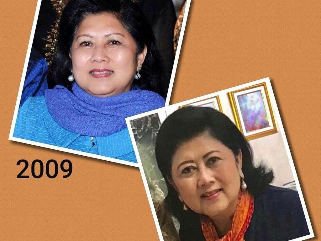 Tak Berubah, Begini 10 Year Challenge Bu Ani Yudhoyono