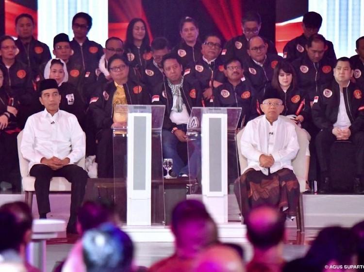 Maruf Amin Dikritik BPN, Dibela TKN