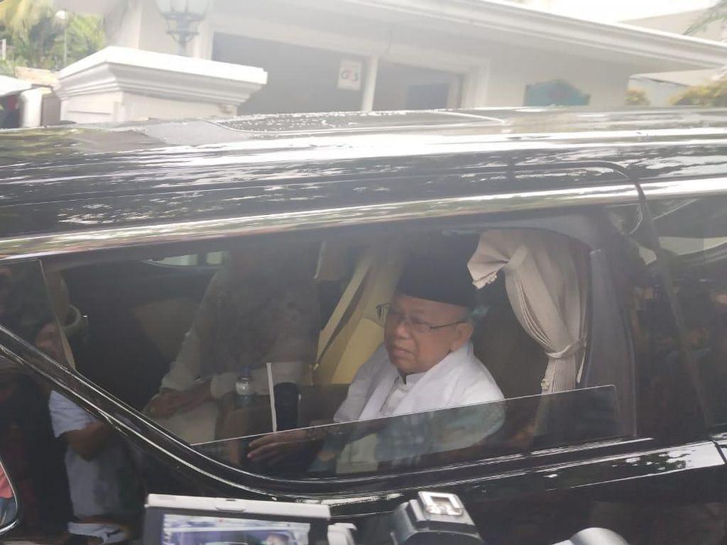 Alphard dan Fortuner Maruf Amin Lebih Mahal dari 10 Mobil Jokowi