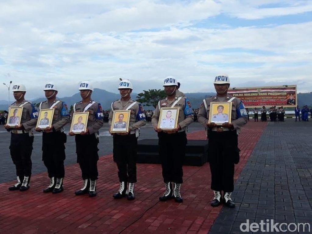 Telantarkan Keluarga, Brigpol Zeth Dipecat Kapolda Maluku
