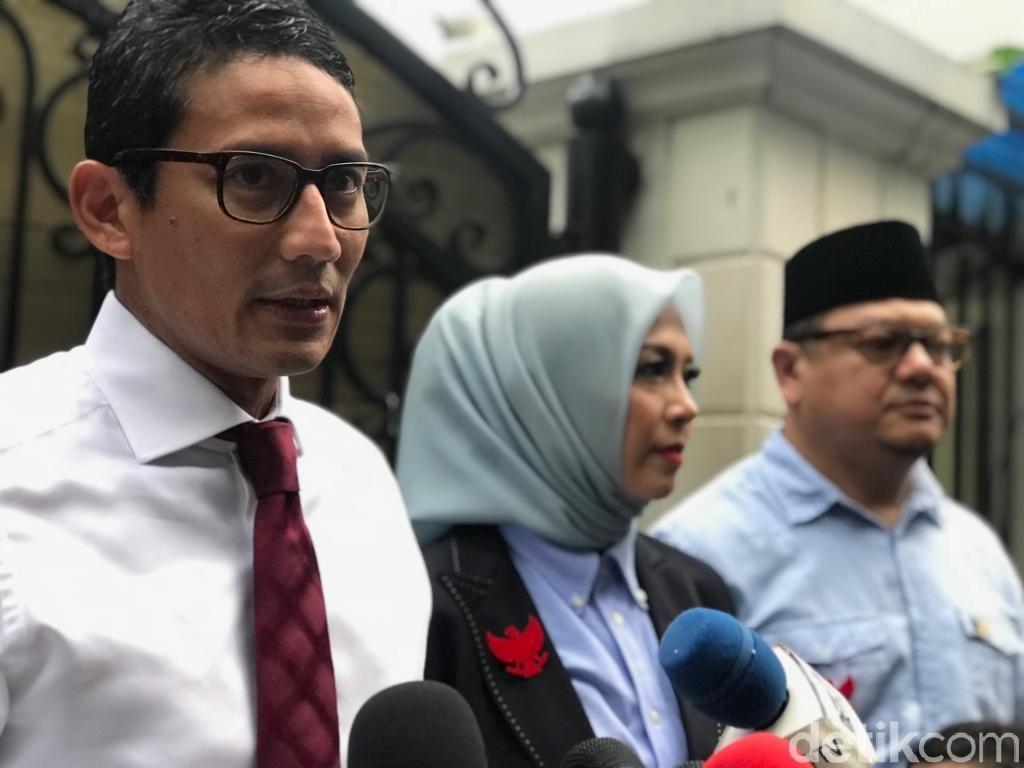 Tak Singgung Kasus Novel di Debat, Sandiaga: Pak Prabowo Bilang Jangan