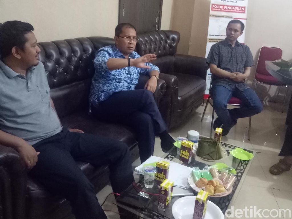 Walkot Makassar Datangi Panwaslu Bahas Cuti Kampanye