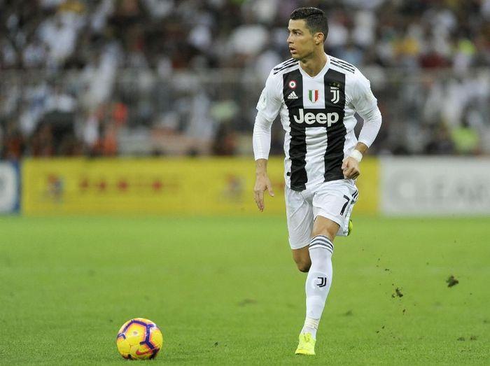 Cristiano Ronaldo memenangkan Juventus 1-0 atas AC Milan di Piala Super Italia, Kamis (17/1/2019) dini hari WIB. (Foto: Marco Rosi/Getty Images for Lega Serie A)