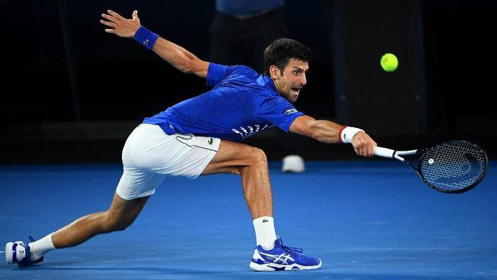 Novak Djokovic lolos ke babak ketiga Australia Terbuka. Foto: Quinn Rooney/Getty Images
