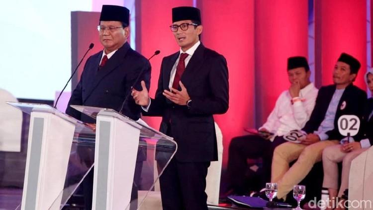 Sandiaga: Alhamdulillah Debat Pertama Dilewati dengan Sangat Baik