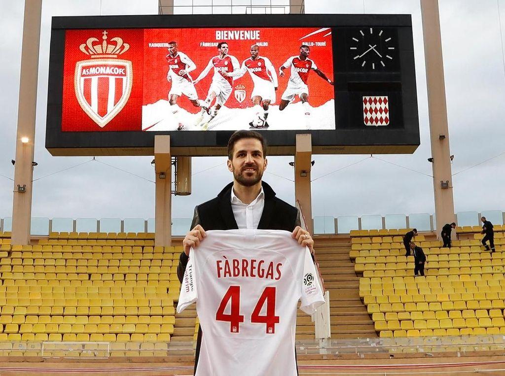 Selamat Datang di AS Monaco, Cesc Fabregas