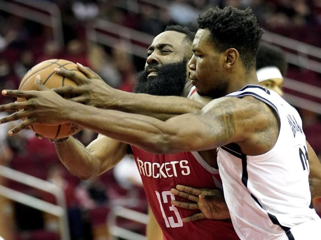 Hasil NBA: Harden Cetak 58 Poin, tapi Rockets Dikalahkan Nets
