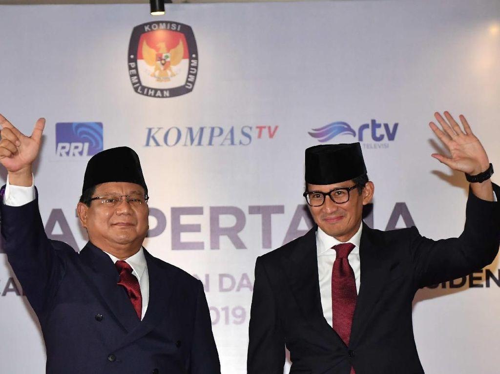 Rekapitulasi KPU Sulsel: Prabowo-Sandi Ungguli Jokowi-Maruf