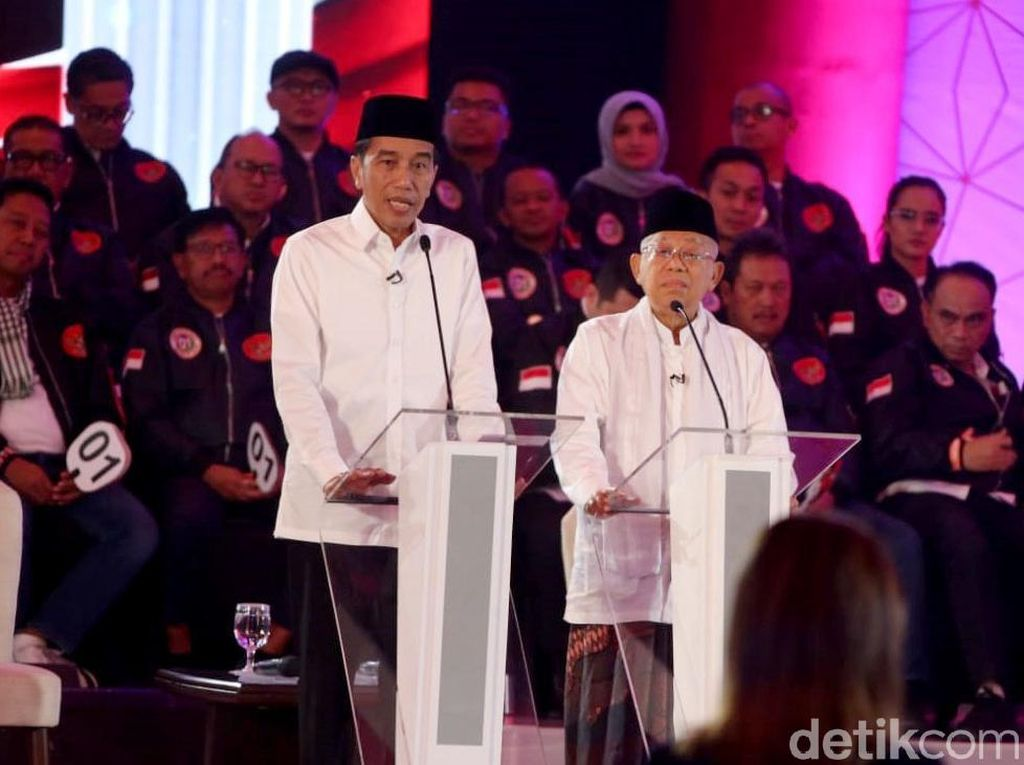 TKN: Jokowi-Maruf Tak Ada Pembagian Tugas di Debat Kelima